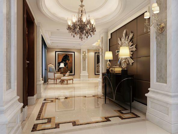 110平米欧式风格三居室,预算7万,点击看效果图!-青城神韵一期装修