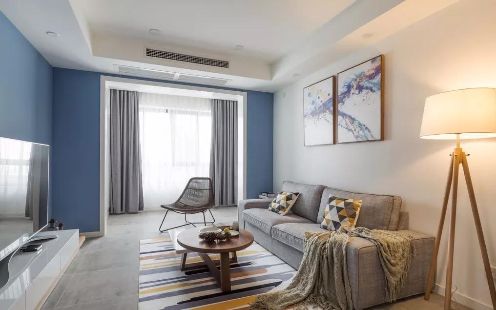 新房128平米三居室现代风格,装修只用了18万,谁看谁说