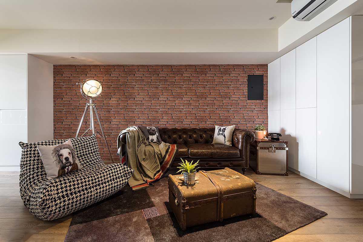 选用全包的方式,将一居室房屋交给装修公司,只花了5万元!
