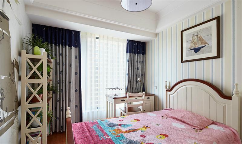 朋友买的135平米四居室,全包一共才花15万,这美式风格