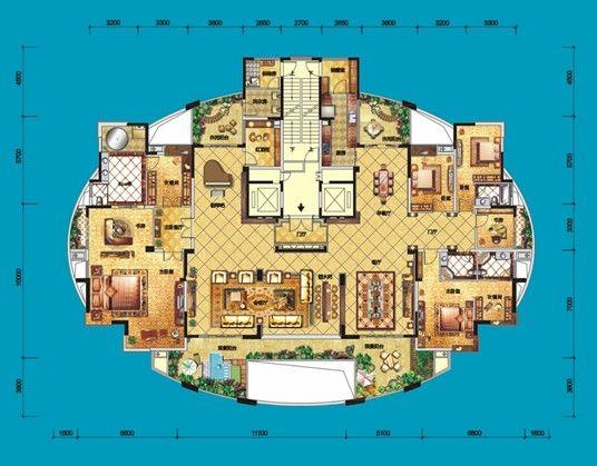 我家装修的480平米欧式风格,全包花了72万元,值不值?恒浅山别墅仁图片