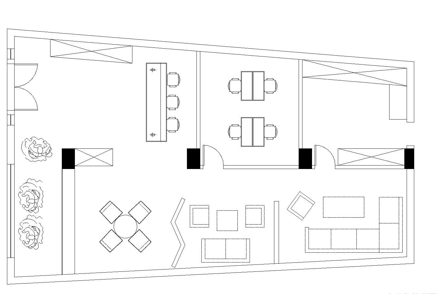 婚纱店平面布置图_婚纱店设计平面布置图