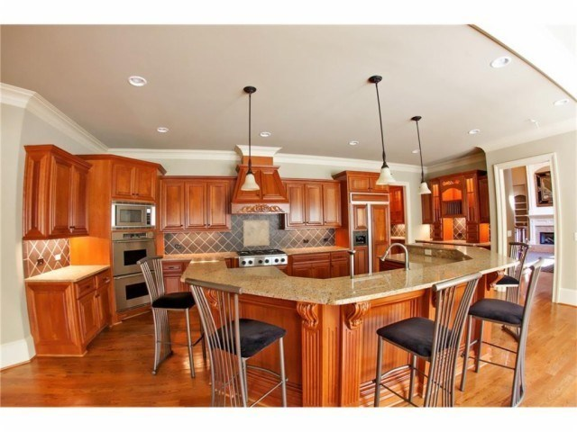 gorgeous finishes vaulted ceilings stained woodwork upgraded