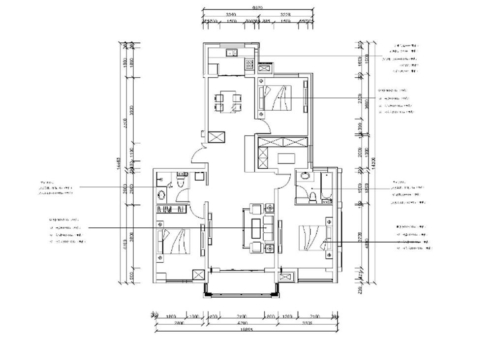 半包4万装修130平米的屋子,结果终于出来了!-汇和祖国装修