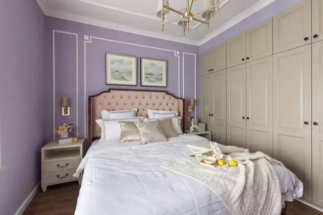128㎡浪漫美式婚房设计,甜蜜、梦幻!